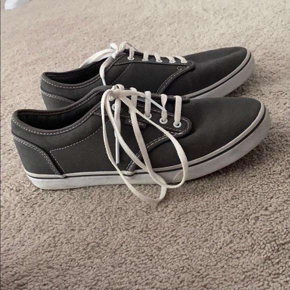 Vans Shoes   Grey Size 8 Nwot   Poshmark